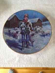 COUNTRY CHRISTMAS 1992 LOWELL DAVIS PLATE
