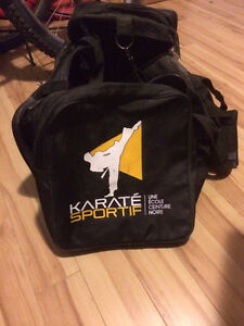 Sac de sport karate sportif