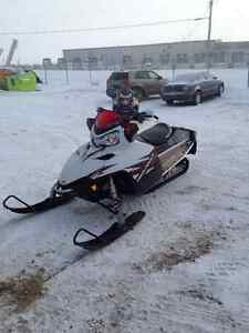 Show room condition trail sled
