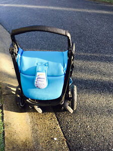 phil and teds Smart Buggy Stroller, Cyan