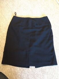 Black next skirt size 16