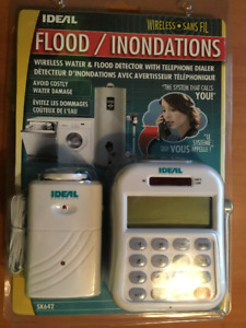 IDEAL WIRELESS WATER & FLOOD DETECTOR with TELEPHONE DIALER