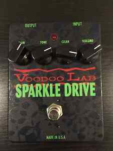 VOODOO LAB SPARKLE DRIVE OVERDRIVE PEDAL