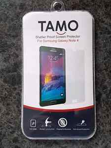 Glass Screen Protector Samsung Note 4 London Ontario image 2
