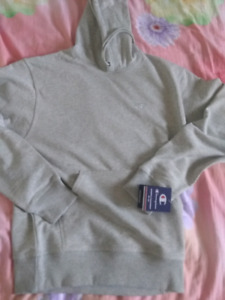 NEW Champion Grey Hoodie Small Men (BRAND NEW WITH TAGS)