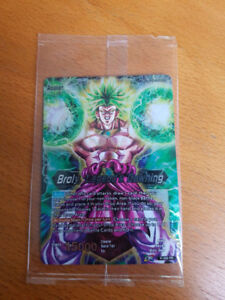 Dragon ball super card game - broly, legends dawning