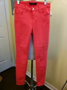 Unworn new J Brand and 7 Mankind jeans, sz 26, 27