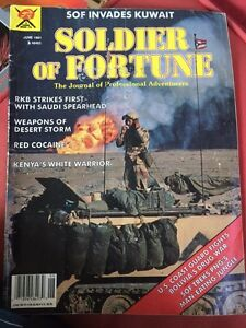 SOLDIER OF FORTUNE vintage magazine June 1991