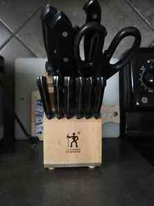 Almost new 11 Henkel  knives Edmonton Edmonton Area image 1