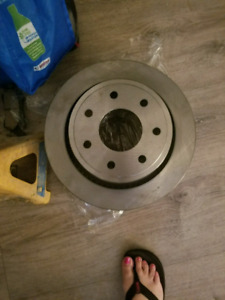 Brake pads and rotors for ford f150