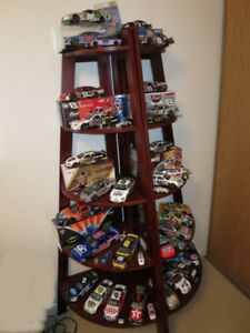 NASCAR Diecast Collection and Display Shelves