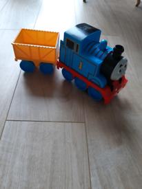 Thomas the tank train and cart