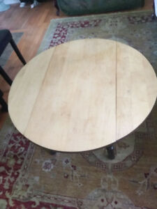 Soled Wood Coffee Table