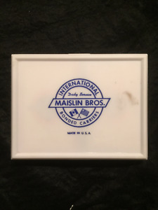 Maislin Bros Bonded Carriers playing cards
