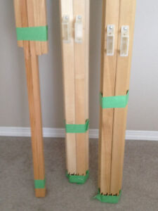 Gallery Stretcher Bars+inner bars for stretching Canvas, 5photos Edmonton Edmonton Area image 4