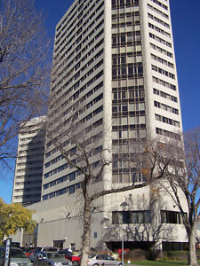 River Valley View Highrise Condo Suite for Rent in Downtown!