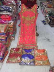 Indian party wear suits (Lehengas, Anarkali, Gown, Floor Touch)