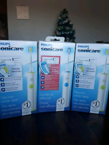 New in the box sonicare electric toothbrushes