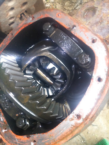 Jeep TJ front differential