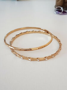 New COACH bangles (set of two)