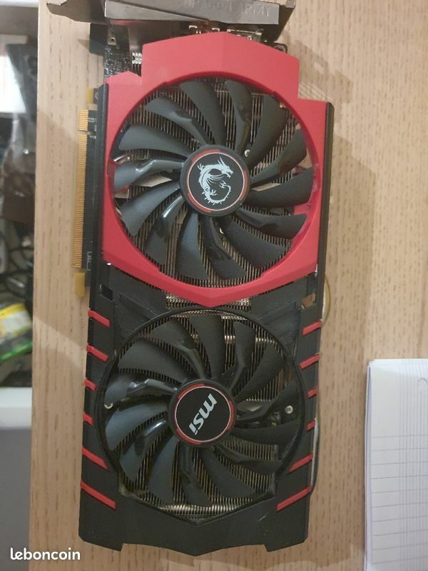 Carte graphique msi gaming gtx 970 4go