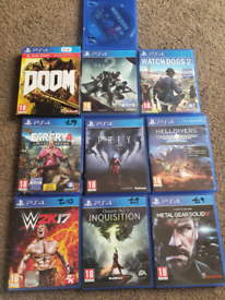PS4 Games Each £7 Or 3 For £18