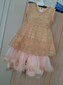 Baby Girl Dress & Shoes