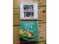 Audio Books - Stephen Fry and The White Tiger