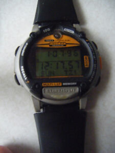 Timex IRONMAN TRIATHLON DATA LINK WATCH in Truro