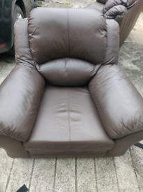 arm chair and 2 seater