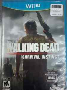 Walking Dead survival instincts Wii U