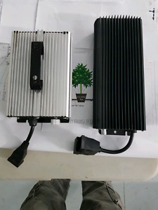 Used Hydroponic grow light's and 1000 watt dimmable ballast
