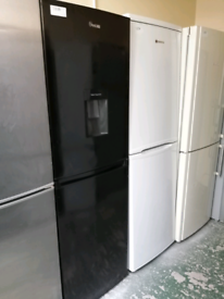 Swan Fridge freezer with water dispenser at Recyk Appliances