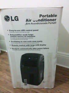 LG portable 12k BTU Air Conditioner