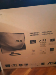 Brand new ASUS  VZ229 22W LCD Monitor