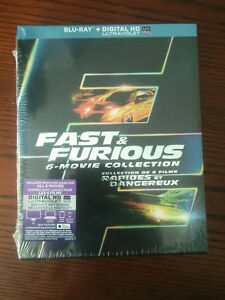 Fast & Furious: 6-Movie Collection (Blu-ray + Digital HD) Oakville / Halton Region Toronto (GTA) image 1