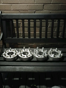 "2"" INCH WHEEL SPACERS! GM CHEVY,GMC,CADILLAC SUV 6x139 or 6x5.5!"