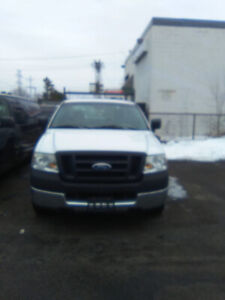 2005 ford f150 only 193000 kms 8 foot plus liner box