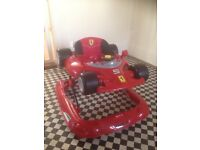 Ferrari Baby Stroller