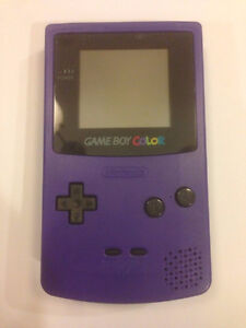 ***PURPLE NINTENDO GAMEBOY COLOUR + MANY GAMES FOR SALE!***
