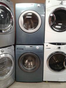 """set washer/dryer Brada front load blue 27"""""""