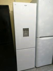 Bush fridge freezer white with water dispenser at Recyk Appliances