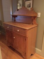 Antique Dining Room Hutch/Buffet/Sideboard