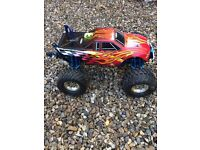 HPI savage fully loaded spares swops welcome £350 ovno