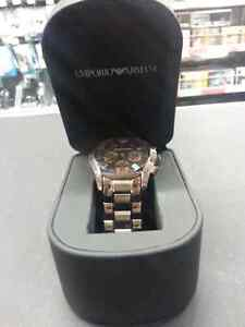 Emporio Armani watch. We sell used watches and accessories
