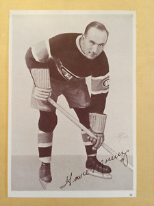 Howie Morenz photo Canada starch Crown Brand en parfait état