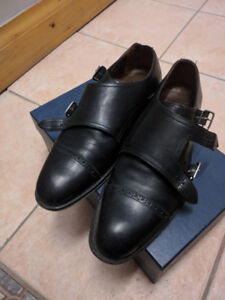 Men's Leather Dress Shoes, size 8
