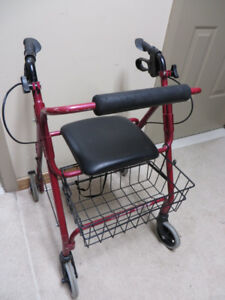 ~~~Used 4 Wheels Walker In Good Condition