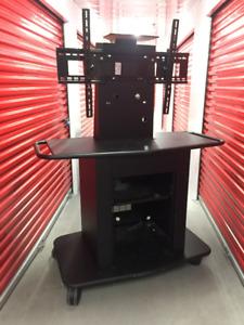 Universal Mobile MultiMedia AV / TV Cart Stand with TV Mount
