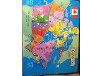 Puzzle of Canada